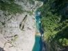 Czarnogóra - Pivsko Jezero - zapora, fot. M.Zapora